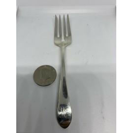 Gorham J. E.Caldwell@Co, Sterling Silver Fork With Engraving