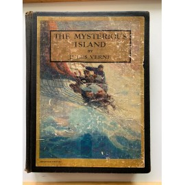 The Mysterious Island Jules Verne Wyeth Illustrator Scribner HB 1924