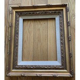 Vintage Picture Frame Carved Wood Gold Gilt 13x15 and 8x10 Inches