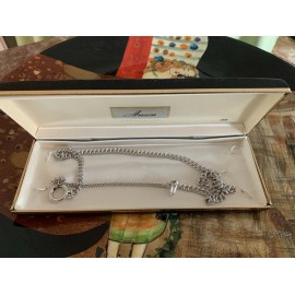 Waldemar Vest Chain Anson Sterling silver rope links with swivel 0.71 Oz