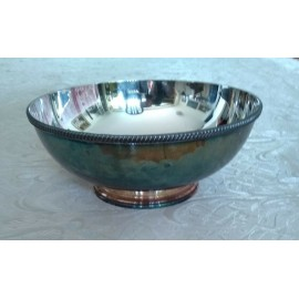 TIFFANY & CO. Silver Plate Bowl, Big Size-8.9 Inches