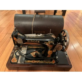 Antique sewing machine of the Singer USA 1926